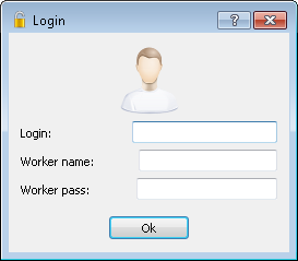 EasyMiner login